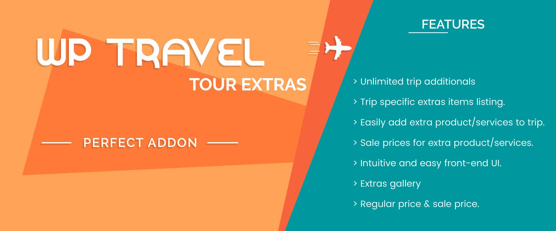 WP Travel Tour Extras