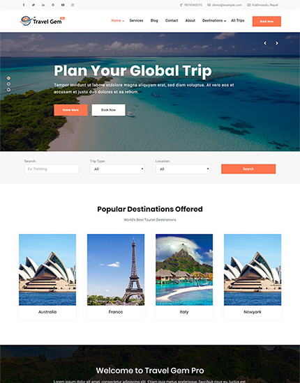 Travel Gem Pro