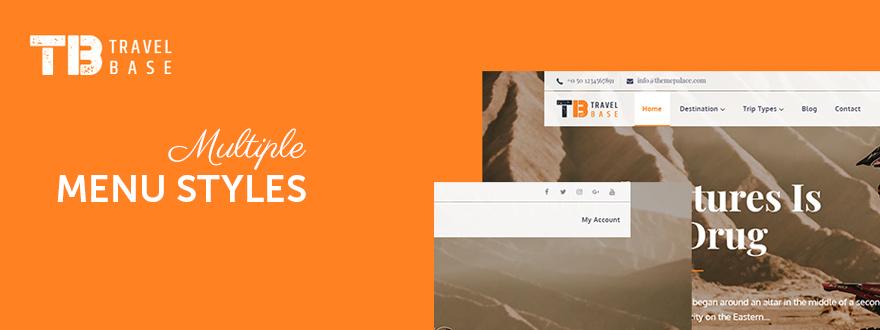 [TRENDING] Tour Master – Tour Booking, Travel WordPress Plugin multiple-menu-styles