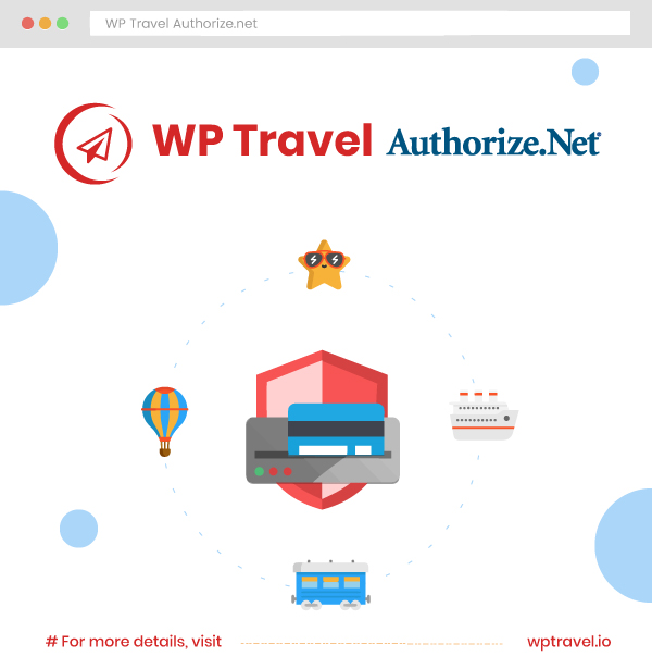 WP Travel Authorize.Net Checkout