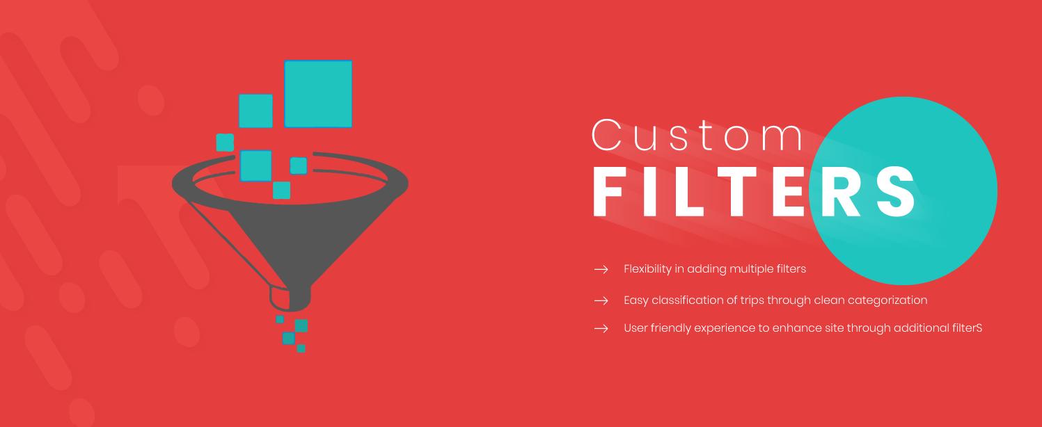 WP Travel Custom Filters