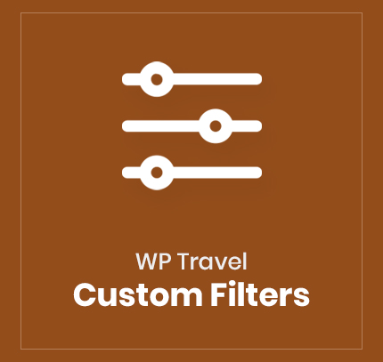 WP Travel Custom Filters