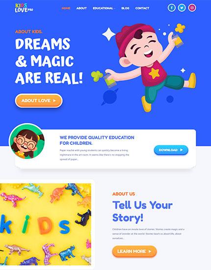 Kids Love Pro