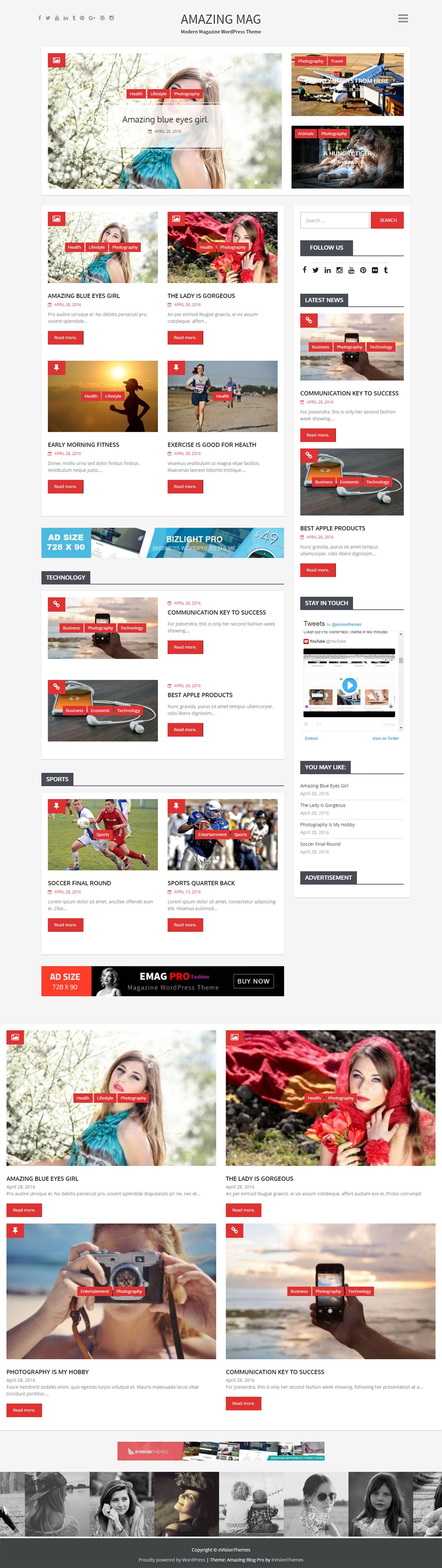 Amazing Blog Pro