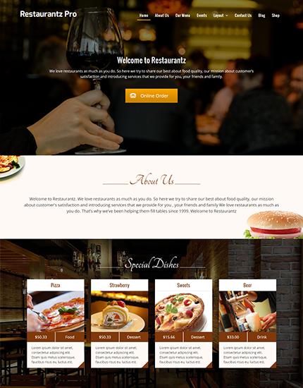 Restaurantz Pro