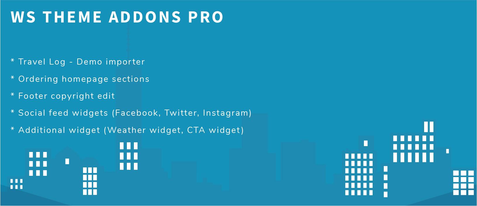 WS Theme Addons Pro