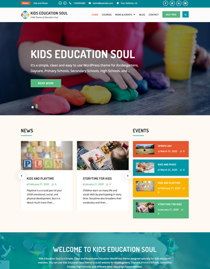 Kids Education Soul