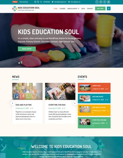 Kids Education Soul
