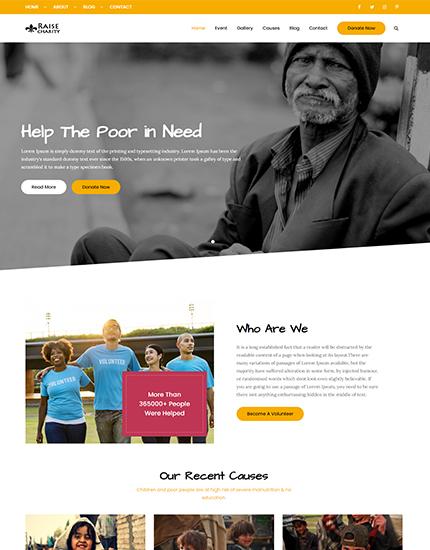 Raise Charity Pro