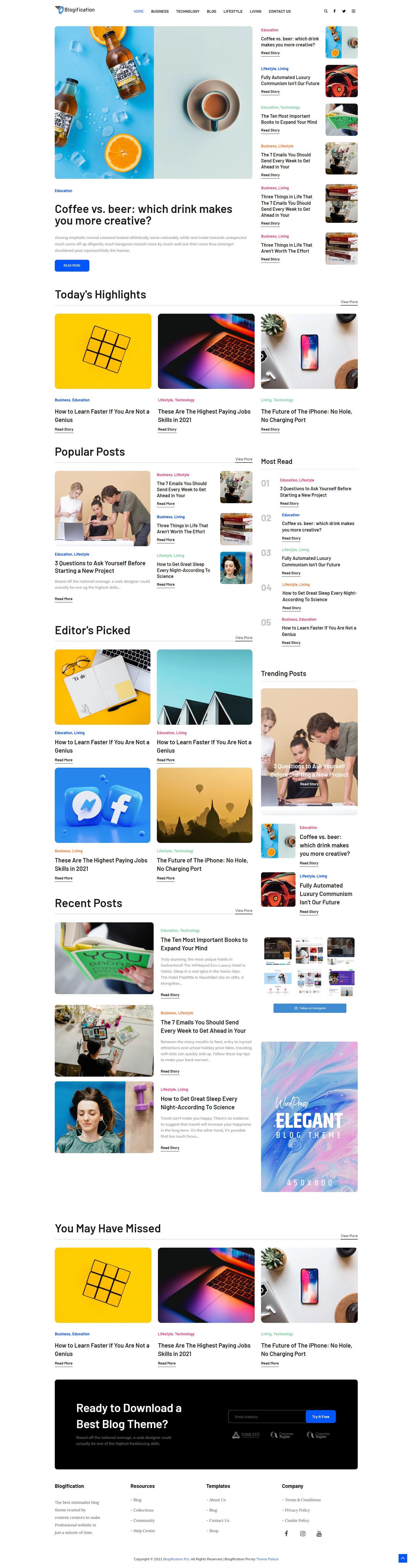 Blogification